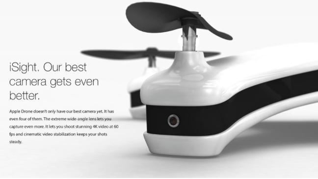 Apple Drone Fake Produkt