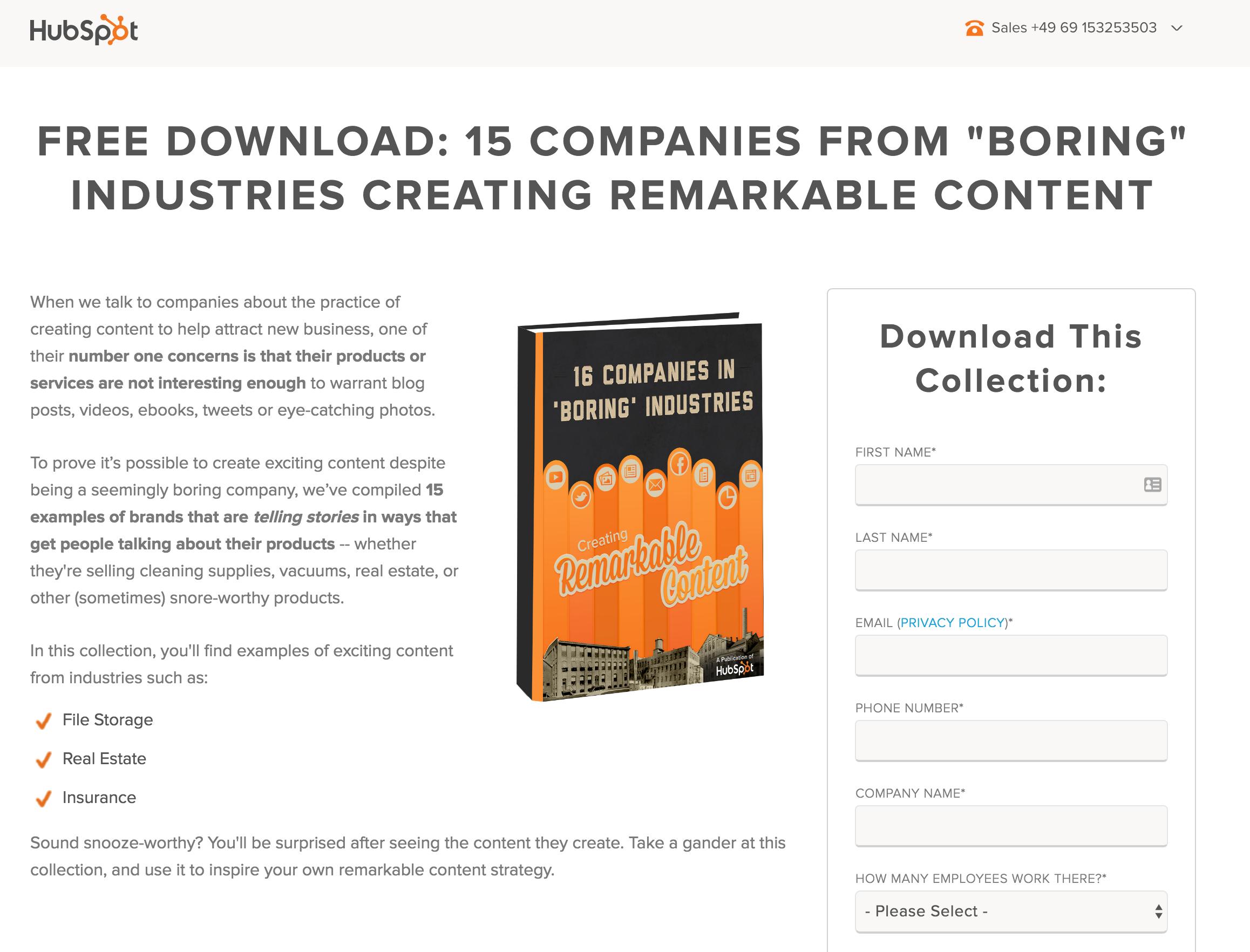 B2B Content Marketing Beispiel 2