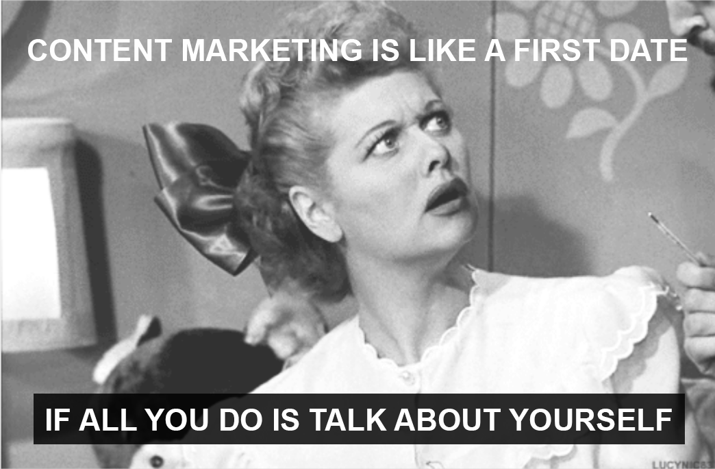 B2B Content Marketing Meme
