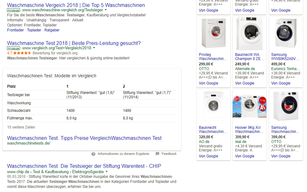 Voice Search SEO Google Dekstop Suche