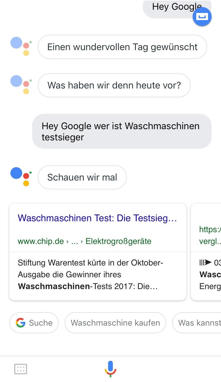 Voice Search SEO Transactional Google Assistant