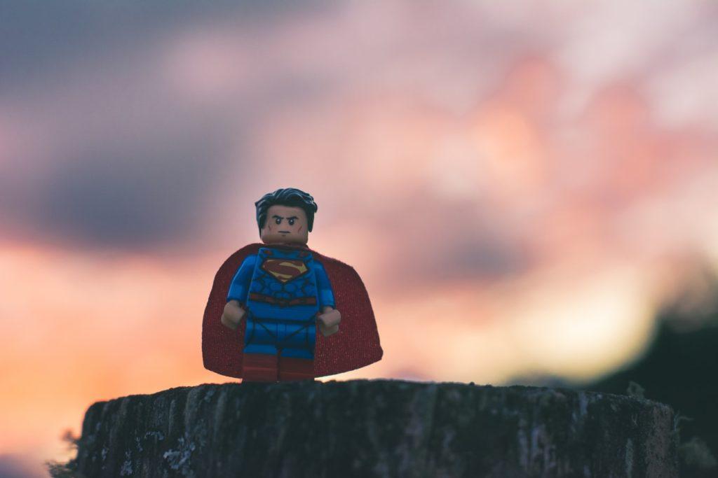 Lego Superman Figur