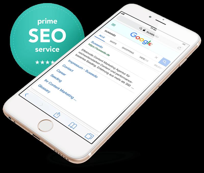 Iphone mit offener Google Suche