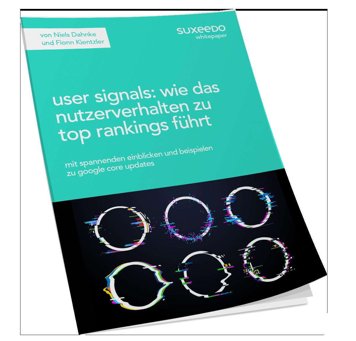 User Signals Whitepaper gekipptes Cover