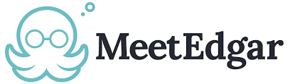 Das Logo vom Social Meda Tool MeetEdgar