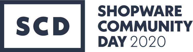 Logo des Shopware Community Days 2020 als bedeutende Veranstaltung im E-Commerce